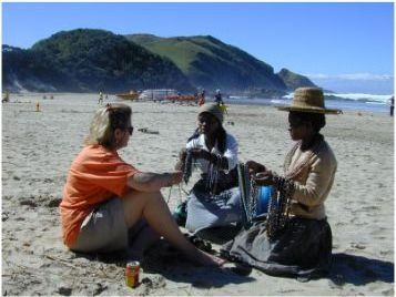 Bartering on the Beach