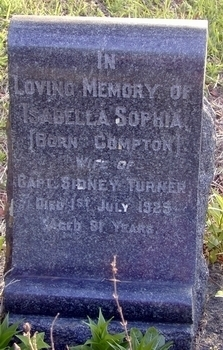 Captain Sidney Turner's Grave
